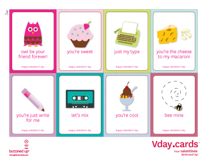 click - Valentines For Students